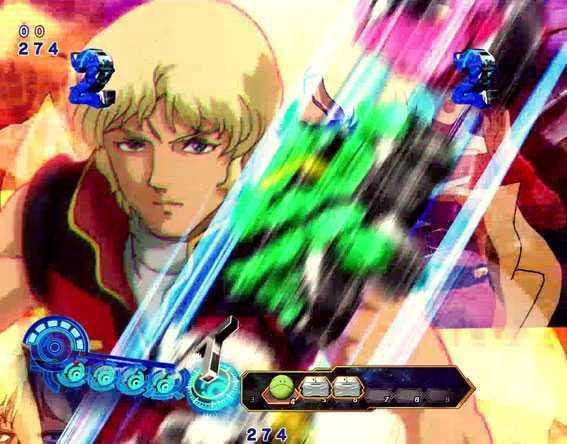 Pフィーバー機動戦士ガンダム 逆襲のシャアのアニメ シャア