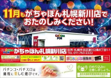 がちゃぽん札幌新川店