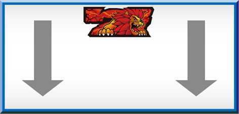 猛獣王の中リール枠上~上段に赤7