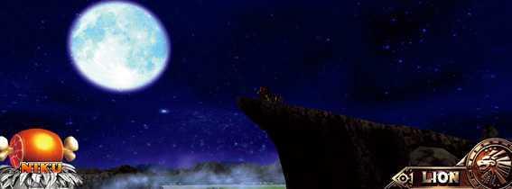猛獣王の夜ステージ