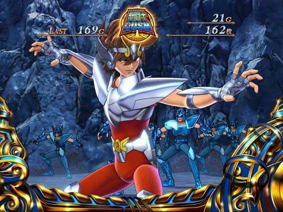 聖闘士星矢 セイントセイヤ 海皇覚醒の聖闘士RUSHの海底渓谷ステージ