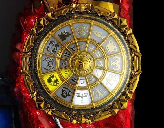 聖闘士星矢 セイントセイヤ 海皇覚醒の聖闘士RUSHの聖闘士アタックの火時計演出