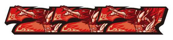 聖闘士星矢 セイントセイヤ 海皇覚醒の聖闘士RUSHの聖闘士ボーナス