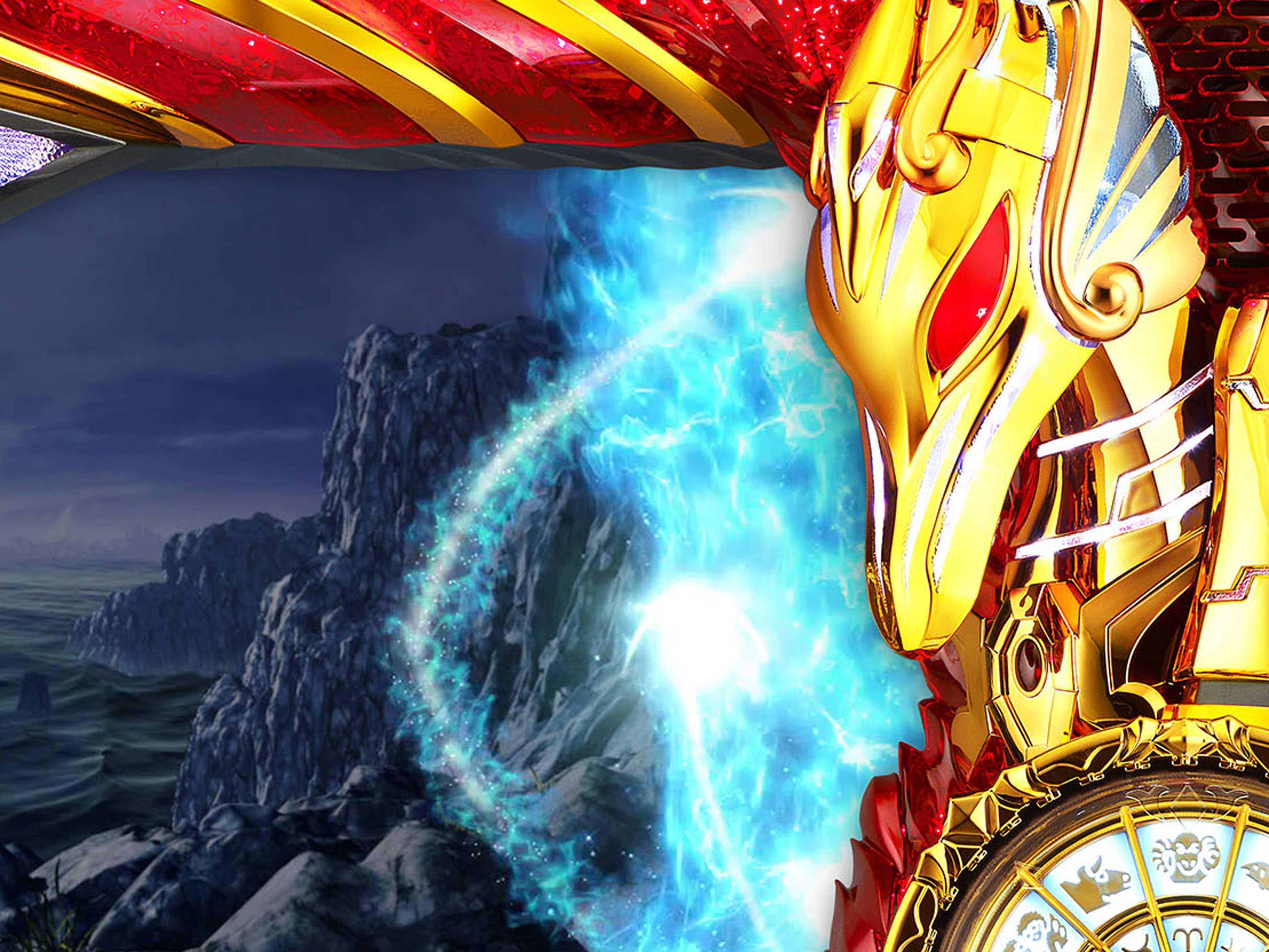 聖闘士星矢 セイントセイヤ 海皇覚醒の不屈ポイントの演出