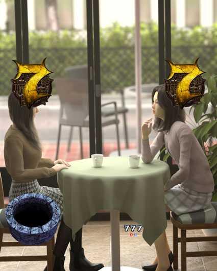 貞子vs伽椰子 頂上決戦 カフェリーチ