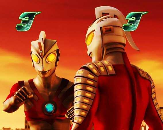 ウルトラ6兄弟 ウルトラマンエース(セブン共闘)vsヒッポリト星人