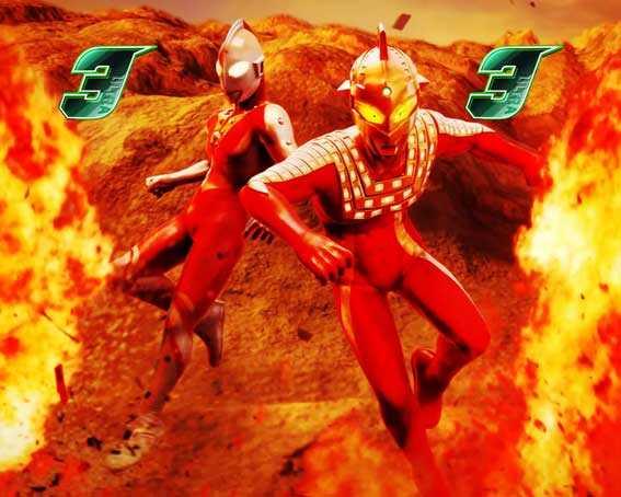ウルトラ6兄弟 ゾフィー(セブン共闘)vsバードン