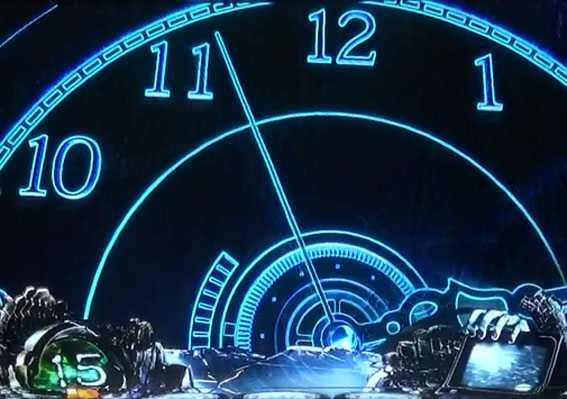 リング恐襲ノ連鎖 有利区間移行時 時計演出
