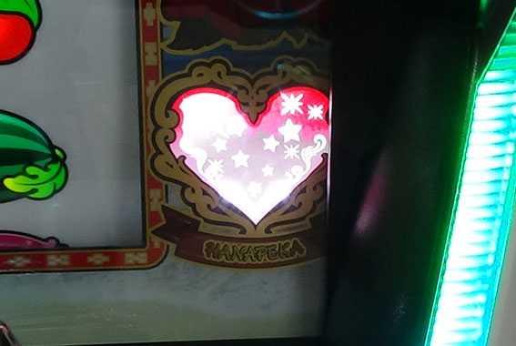ハナペカ セットストック当選 ハートランプ点灯
