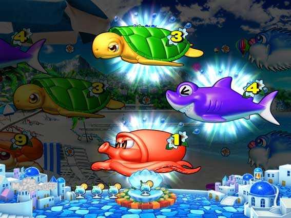 スーパー海物語IN地中海 3・4・1図柄リーチ
