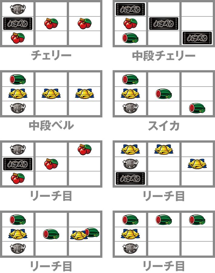 ハナペカ 子役停止形