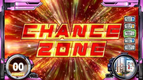スナイパイ71 スロット新台のCHANCE ZONE