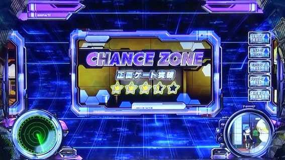 スナイパイ71 スロット新台のCHANCE ZONE☆