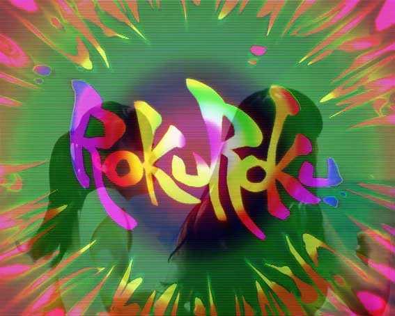 ロクロク6000 虹ロゴ