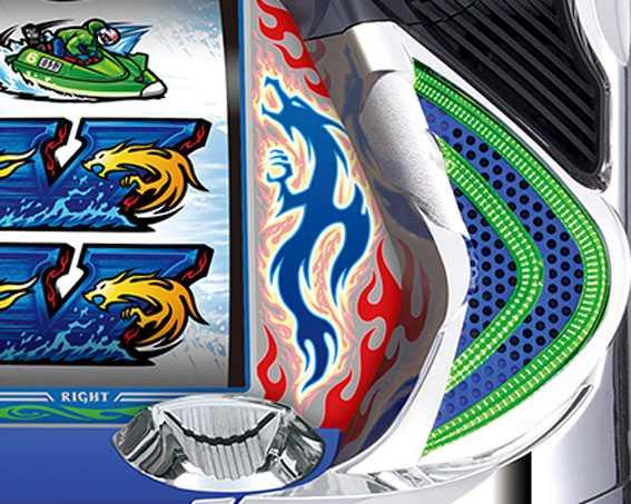 モンキーターンⅣ ステージチェンジ サイドランプ色