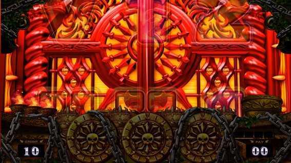 アナターのオット⁉はーです 冥界の扉演出発生画面