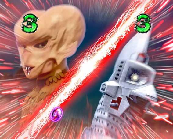 ぱちんこ ウルトラセブン 超乱舞 怪獣SPリーチ