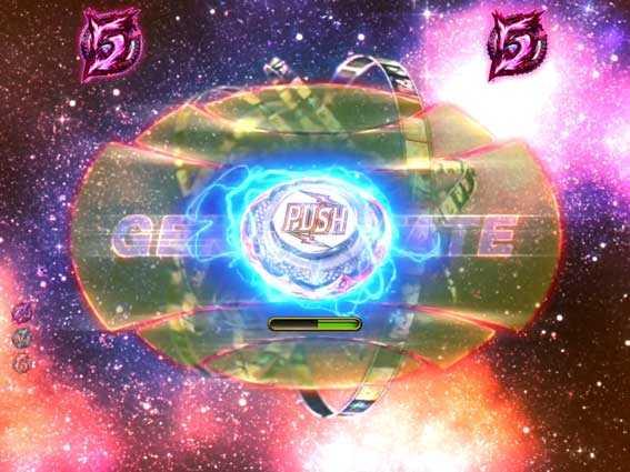 デジハネPA交響詩篇エウレカセブン HI-EVOLUTION ZERO ミッションリーチ ボタン