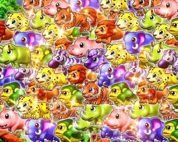 野生の王国 動物群