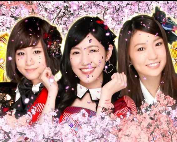 AKB48 桜 LIGHT 推しメン超絶カットイン