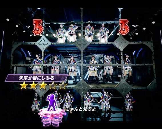 AKB48 桜 LIGHT 未来が目にしみる