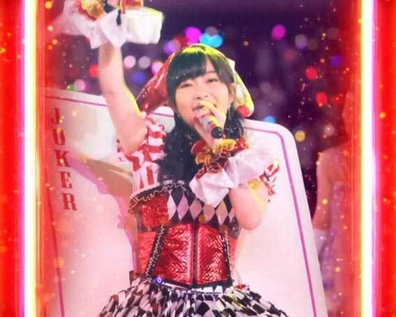 AKB48 桜 LIGHT 赤カットイン