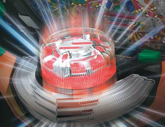 Pギンギラパラダイス 夢幻カーニバル 319 サンライズボタン