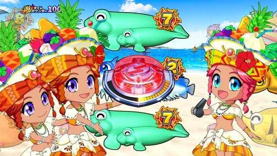 Pギンギラパラダイス 夢幻カーニバル 199 フルーツ姫ステップアップ予告