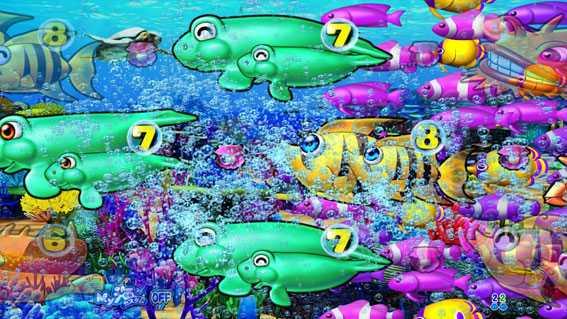 まわるん大海物語4スペシャル 魚群