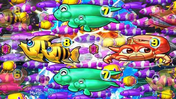 まわるん大海物語4スペシャル 魚群予告