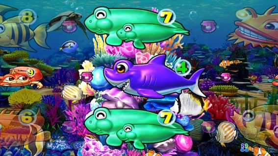まわるん大海物語4スペシャル 珊瑚礁リーチ