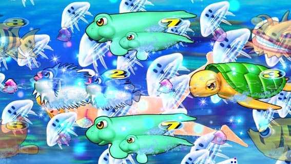 スーパー海物語 IN 沖縄5 アイマリン クラゲ