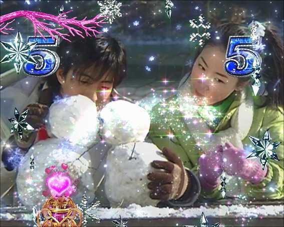 冬のソナタ SWEET W HAPPY 雪だるまリーチ