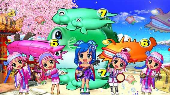スーパー海物語IN沖縄5 桜バージョン ステップ3